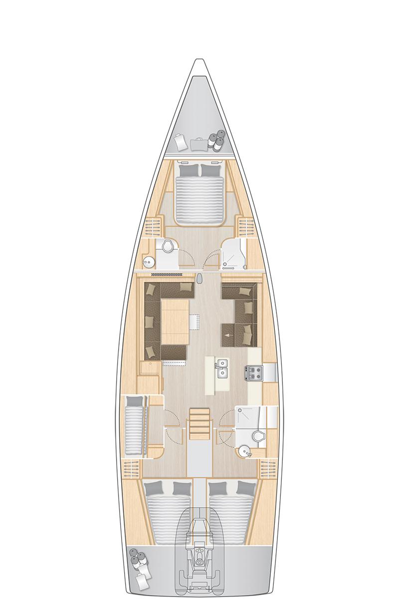 Hanse Yachts UK - Hanse 588