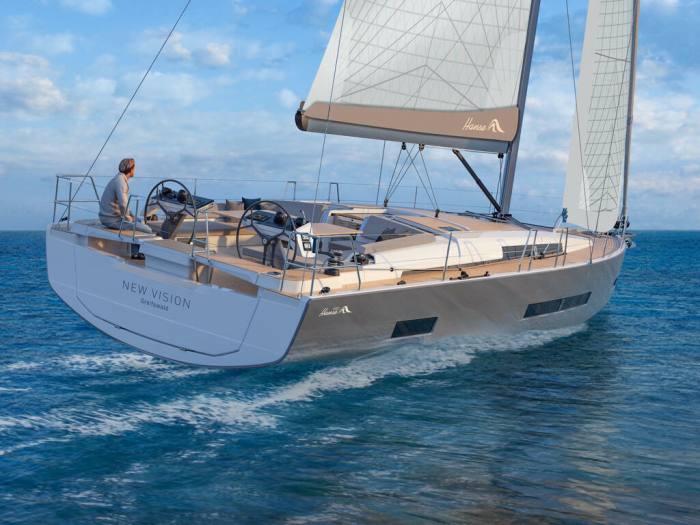 The new Hanse 460