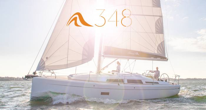 New pictures of the Hanse 348