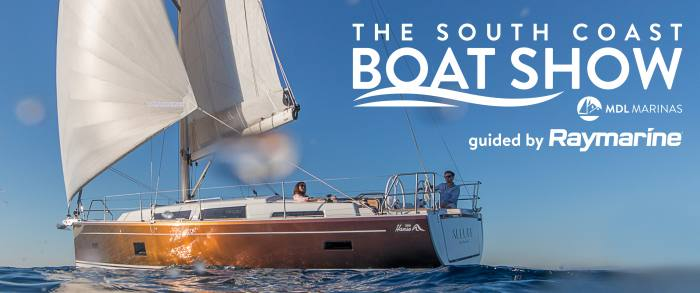 Line-up for South Coast Boat Show 2021
